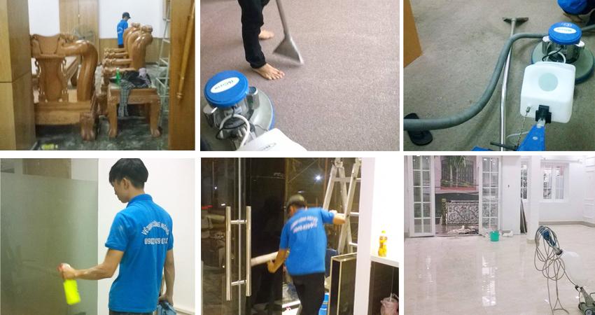 Dịch vụ vệ sinh nhà cửa tại quận tân bình