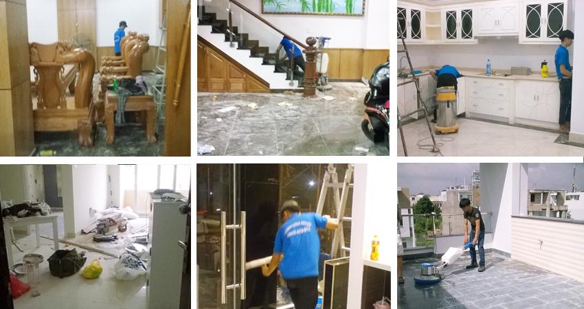 Dịch vụ vệ sinh nhà cửa tại quận Phú Nhuận