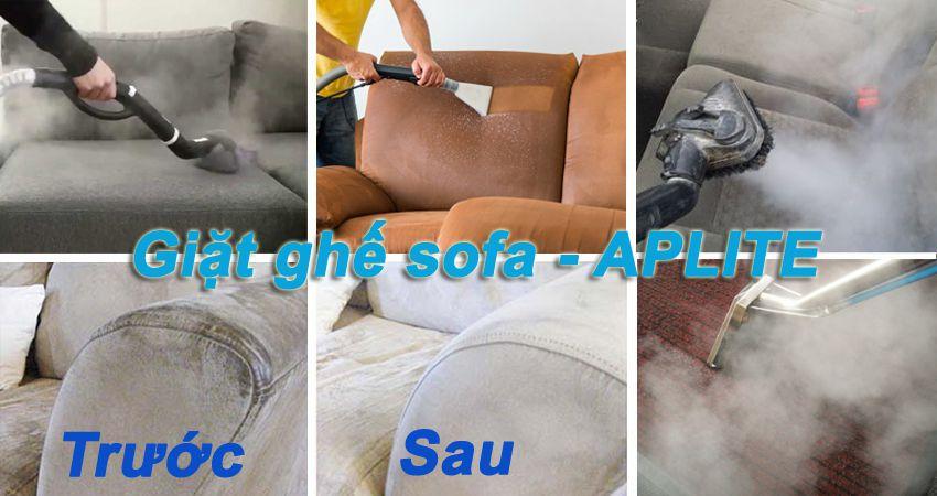 Đội giặt ghế sofa tại nhà tphcm