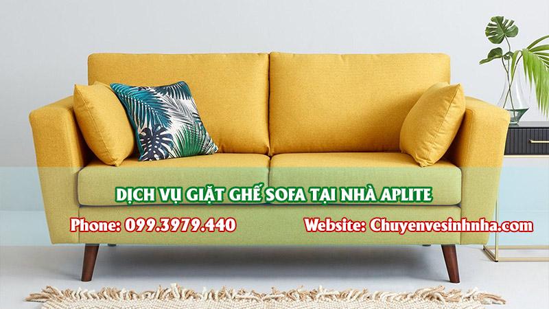 giá giặt ghế sofa tại nhà tphcm