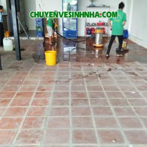 Xử lý xi măng sơn trên sàn