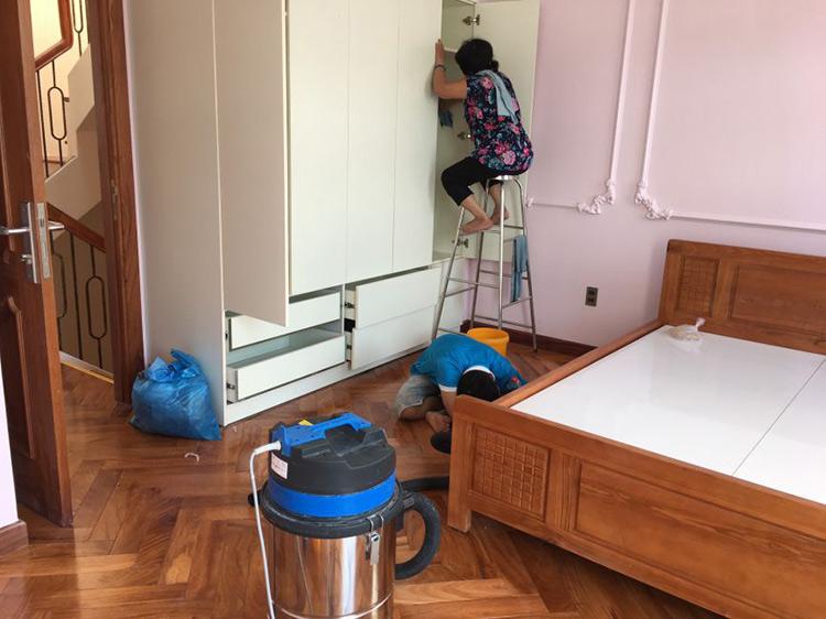 vệ sinh căn hộ chung cư quận 2