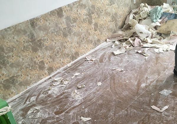 vệ sinh nhà sau thi công